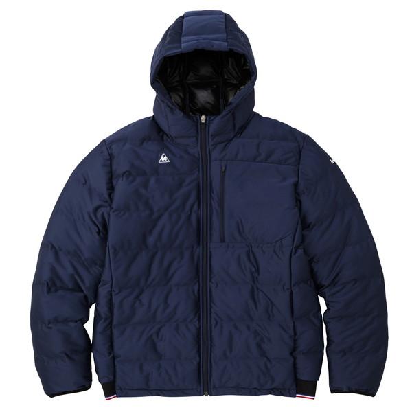 ルコック 国産品 le 激安特価品 coq sportif メンズ 中綿ジャケット QMMQJK03-NVY マルチトレ-ニング