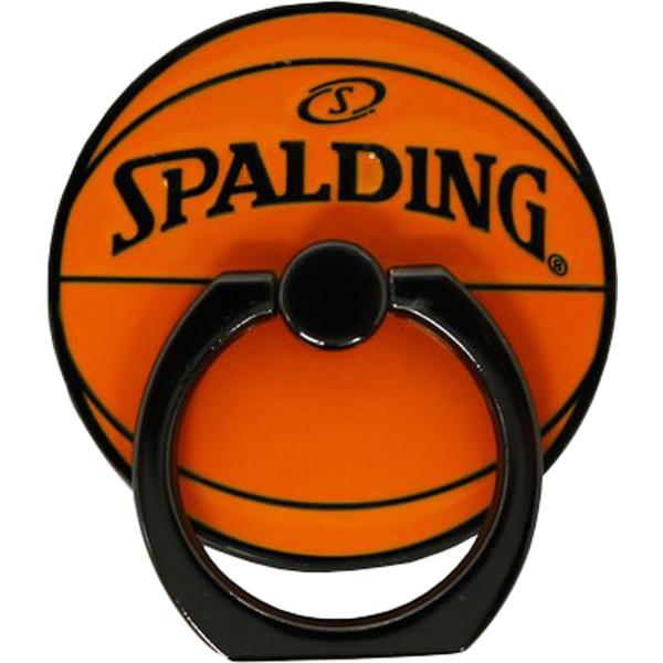 SPALDING(スポルディング) メタルスマートフォンリング 11-014OR バスケット 11014OR