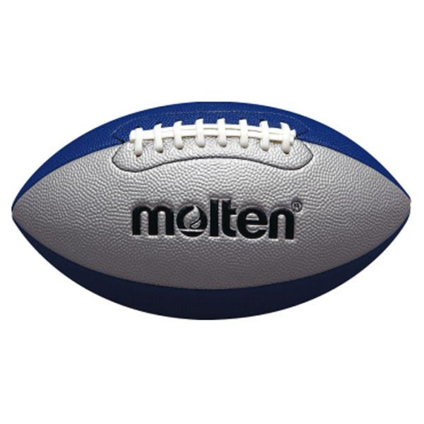モルテン molten フラッグフットボールジュニア シルバー×ブルー ラグビー ボール ボーイズ アメフト 贈り物 ジュニア Q4C2500SB 全国どこでも送料無料