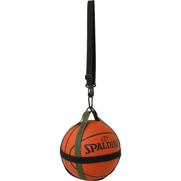 SPALDING お買い得 スポルディング バスケットボールハーネス ブラック×カーキ アクセサリー 信用 50013KH バスケット 50-013KH