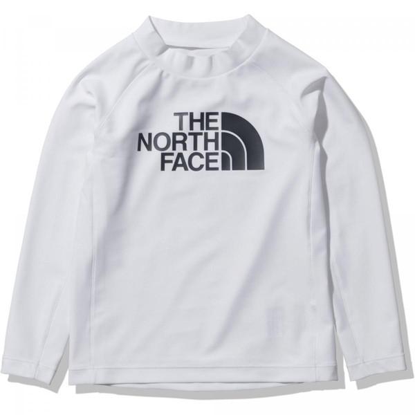 ザノースフェイス THE NORTH FACE キッズ 長袖 人気ブランド多数対象 低価格化 NTJ12162-W ロングスリーブサンシェードプルオーバー