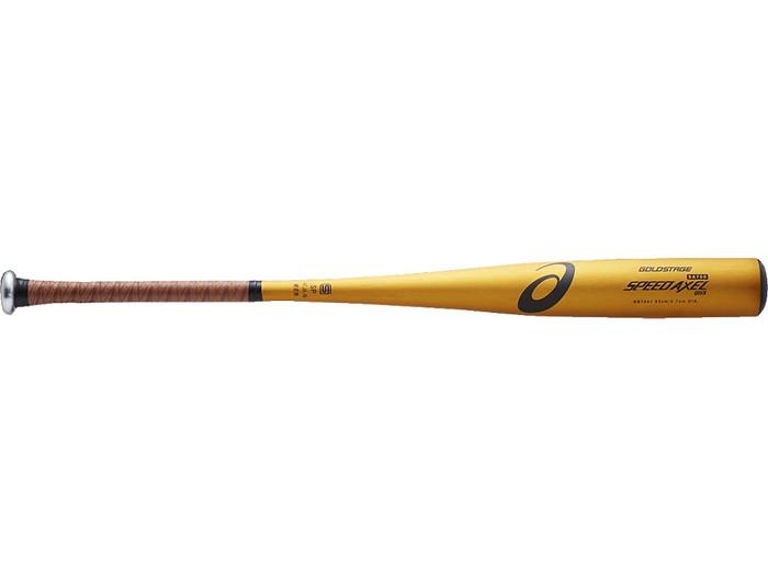 アシックスベースボール(asics/野球) 硬式用 金属製 ゴールドステージ SPEED AXEL QUICK スピードアクセル QUICK BB7041-14