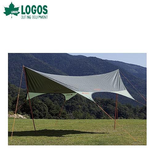 LOGOS ロゴス タープneos ドームFITヘキサ 4443-N 71808012 (野電&キャンドル)