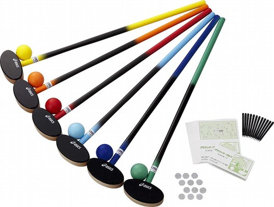 アシックス(asics)クラブ・樹脂ボール6色セット [ GGG113-F ]