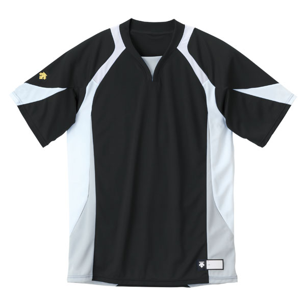 日本 DESCENT お値打ち価格で デサント セカンダリーシャツ DB113-BKWH DB-113