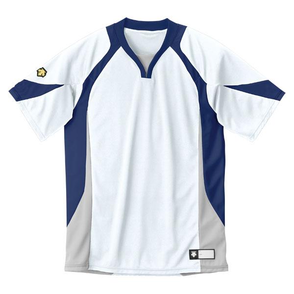 DESCENT デサント セカンダリーシャツ DB-113 DB113-WNV 数量限定 ホワイト ネイビー 2020春夏新作