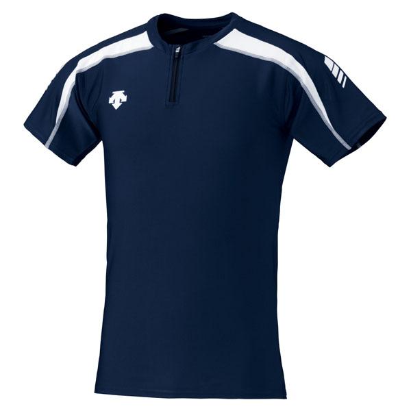 DESCENT デサント Track 国産品 DRN5102-NVWH トラックシャツ Shirt 大決算セール