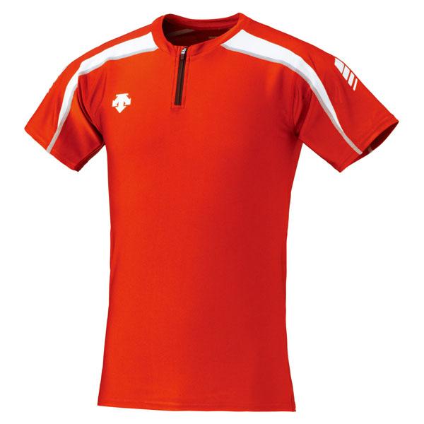 DESCENT デサント Track Shirt DRN5102-RDWH 豪華な 期間限定で特別価格 トラックシャツ