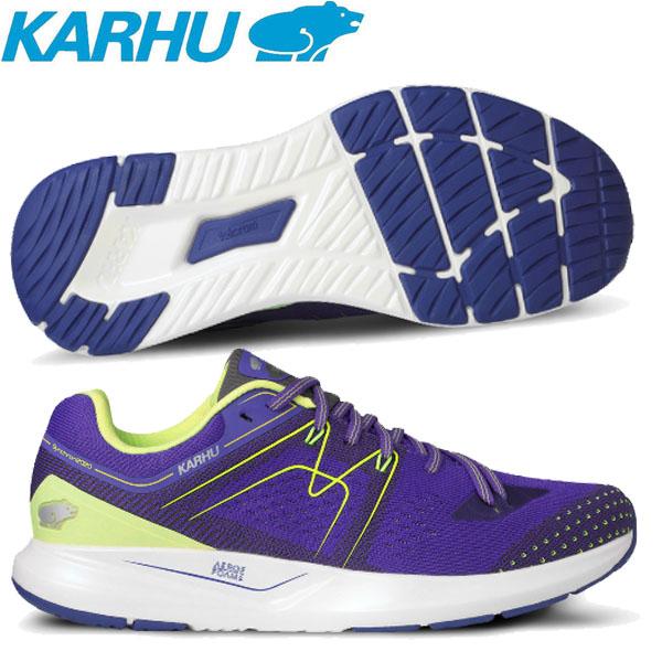 KARHU(カルフ)シューズ Womens Synchron Ortix(シンクロン オルティックス) Liberty Purple/Sharp Green スニーカー KH200274【レディース】