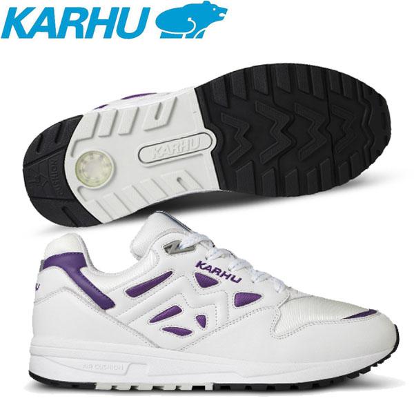 KARHU(カルフ)シューズ Legacy 96 OG ? Bright White/Tillandsia Purple スニーカー KH806001 【ユニセックス】