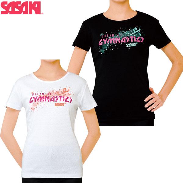 期間限定今なら送料無料 ササキスポーツ SASAKI 予約 体操 ウェア 半袖 Tシャツ 559