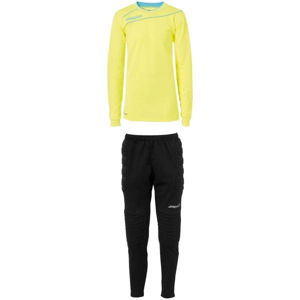 ウールシュポルト(uhlsport) ストリーム3.0GK ジュニアセット サッカー ゲームシャツ・パンツ 1005703-03 ジュニア ボーイズ