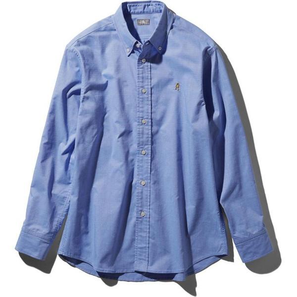 ザノースフェイス(THE NORTH FACE) ロングスリーブヒムリッジシャツ(メンズ) NR11955-SX