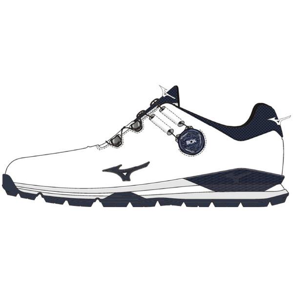 MIZUNO(ミズノ) GENEM 010 SPIKELESS Boa ゴルフ シューズ メンズ 51GM200014