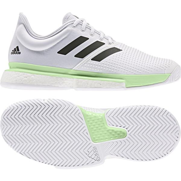 adidas(アディダス) SoleCourt Boost M テニス シューズ EF2068