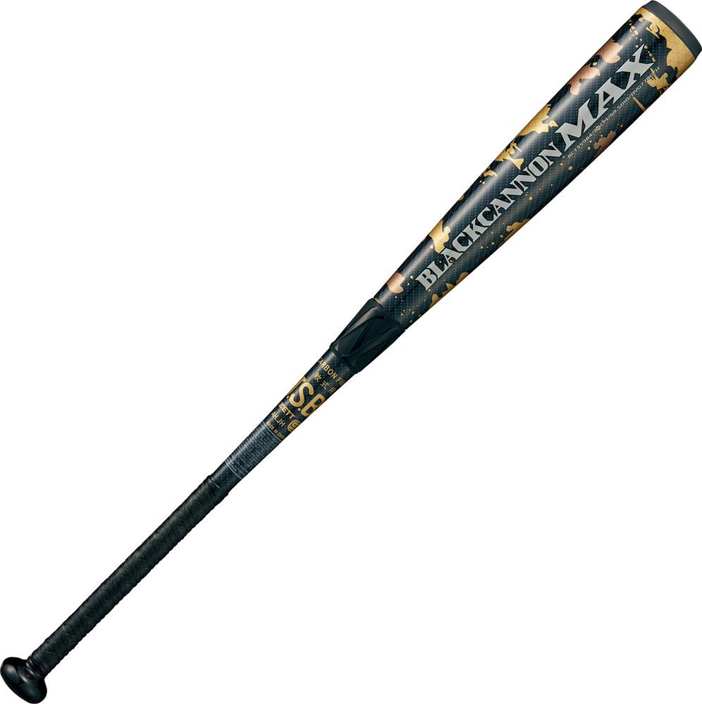 ZETT(ゼット) 一般軟式FRP製バット BLACKCANNON MAX(ブラックキャノン マックス) 野球 バット BCT35904-1900