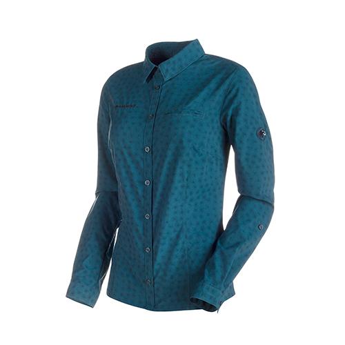 MAMMUT(マムート) Trovat Advanced ロングスリーブシャツ レディース 1030-02560 5325(サイズはユーロ表記)