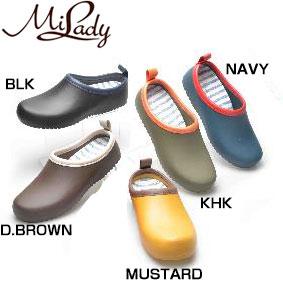 MILADY(ミレディ―) レインシューズ 防水 ガーデニングシューズ ML276 レディース