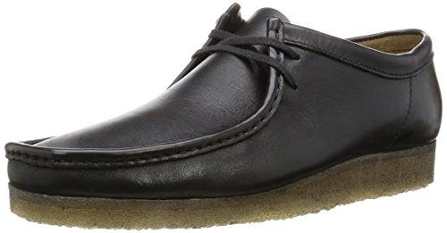 クラークス(Clarks) ワラビー Black Leather メンズ