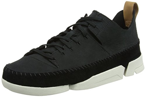 クラークス(Clarks) Trigenic Flex Black Nubuck レディース
