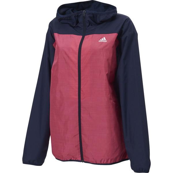 adidas(アディダス) W MH カラーブロック ウインドブレーカージャケット (裏起毛) ウインドウェア FYI97-ED1621