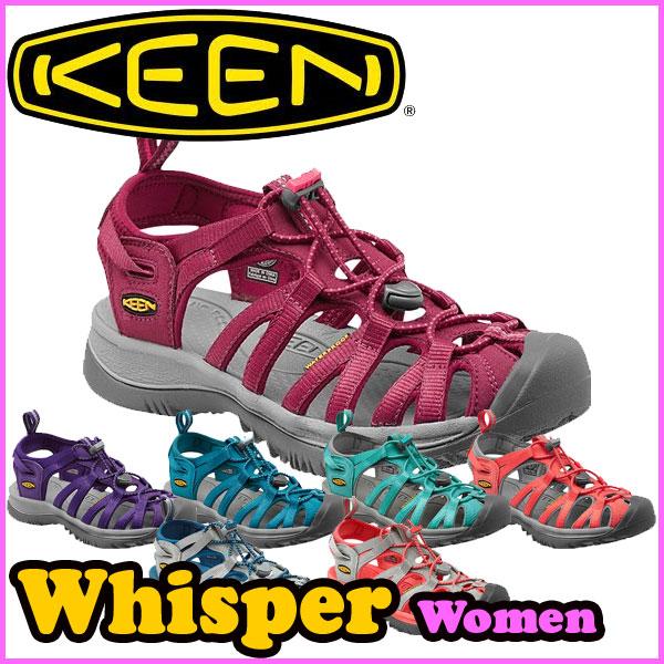KEEN(キーン) ウィスパー WHISPER 【レディース】 アウトドア/サンダル/クロッグ/ウォーター (正規品)