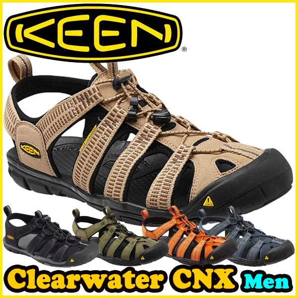KEEN(キーン) クリアウォーター シーエヌエックス CLEARWATER-CNX 【メンズ】 アウトドア/サンダル/クロッグ/ウォーター (正規品)