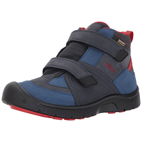 キーン(KEEN) HIKEPORT MID STRAP WP キッズ DRESS BLUES/BLUE 1017995