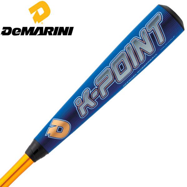 ディマリニ ベースボール(DeMARINI/野球 )少年軟式用バットWTDXJRSKJ K-POINT ウレタン 新軟式ボール対応(あす楽即納)