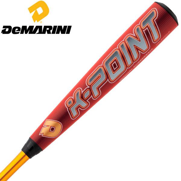 ディマリニ ベースボール(DeMARINI/野球 )軟式用バットWTDXJRSKP K-POINT ウレタン 新軟式ボール対応(あす楽即納)