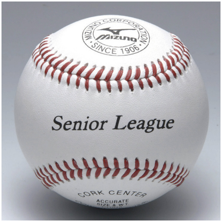 MIZUNO(ミズノ) リトルシニア(日本リトルシニア中学硬式野球協会)練習球 野球 ボール 1BJBL7130012P