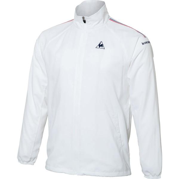 ルコック(le coq sportif) ウィンドジャケット(裏メッシュ) テニス ウインドウェア QTULJF30ZZ-WHT・ユニセックス メンズ・ユニセックス