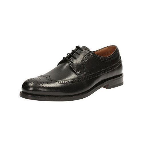 クラークス(Clarks) Coling Limit(Black Leather) シューズ (メンズ) 26119376