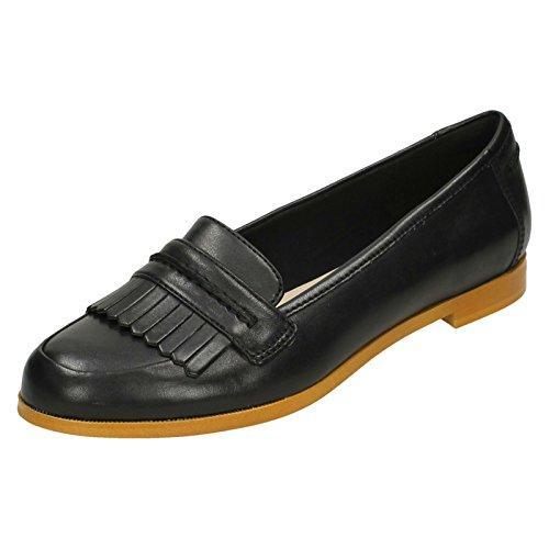 クラークス(Clarks) Andora Crush(Black Leather) シューズ (レディース) 26127154