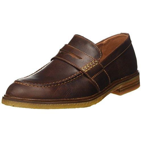 クラークス(Clarks) Clarkdale Flow(Mahogany Leather) レザー ローファー(メンズ) 26131753