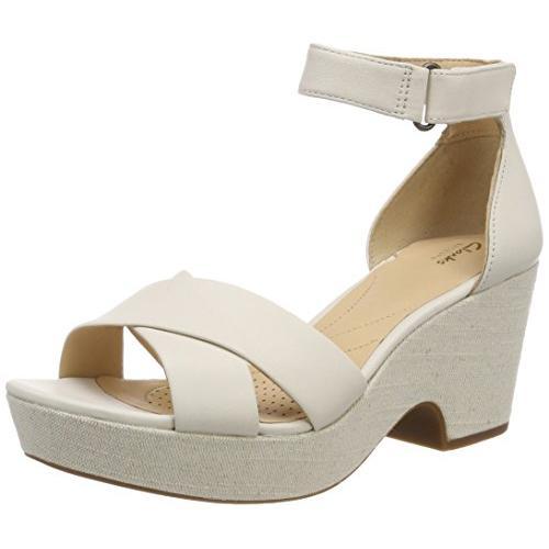 クラークス(Clarks) Maritsa Ruth(White Leather) サンダル(レディース) 26131776