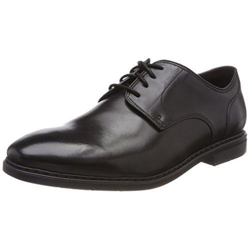 クラークス(Clarks) Banbury Lace(Black Leather) レザー ビジネスシューズ (メンズ) 26132210