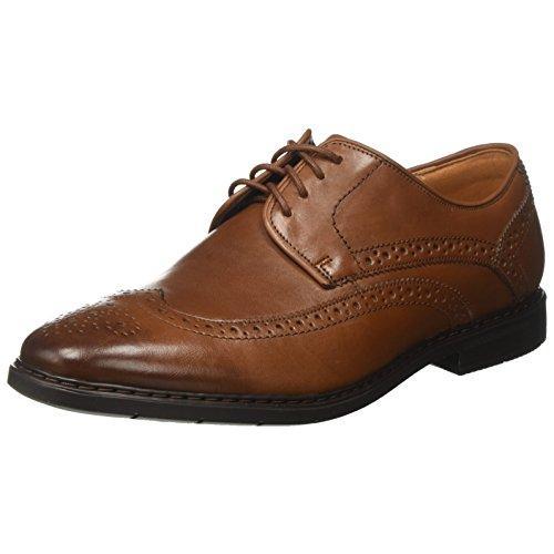 クラークス(Clarks) Banbury Limit(British Tan Leather) レザー ビジネスシューズ (メンズ) 26132243