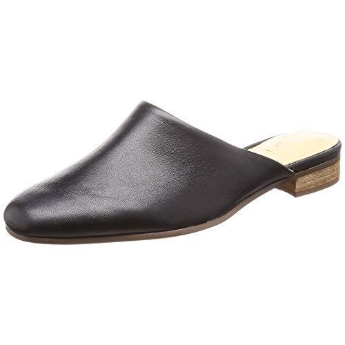 クラークス(Clarks) Pure Blush(Black Leather) ミュール(レディース) 26132410