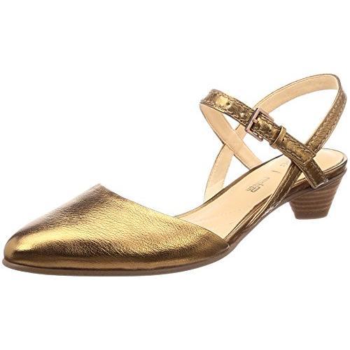 クラークス(Clarks) Mena Yarn(Bronze Metallic) シューズ (レディース) 26132507