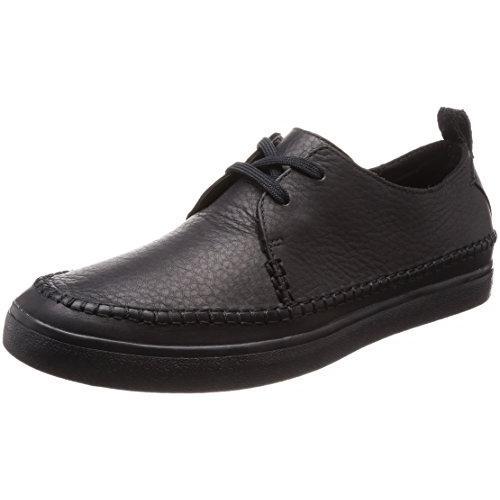 クラークス(Clarks) Kessell Craft(Black Leather) レースアップシューズ (メンズ) 26133749