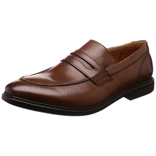 クラークス(Clarks) Banbury Step(British Tan Lea) レザー ビジネスシューズ (メンズ) 26133863