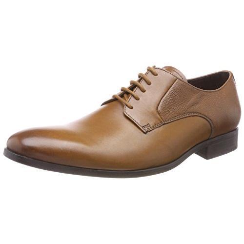 クラークス(Clarks) Gilmore Lace(Tan Leather) レザー ビジネスシューズ (メンズ) 26133901