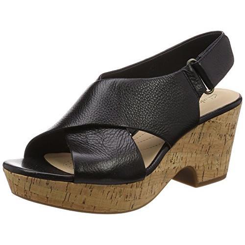 クラークス(Clarks) Maritsa Lara(Black Leather) サンダル(レディース) 26134513