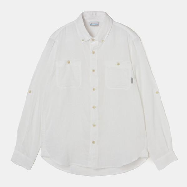 コロンビア(Columbia) バトルパークロングスリーブシャツ メンズ PM6535 100