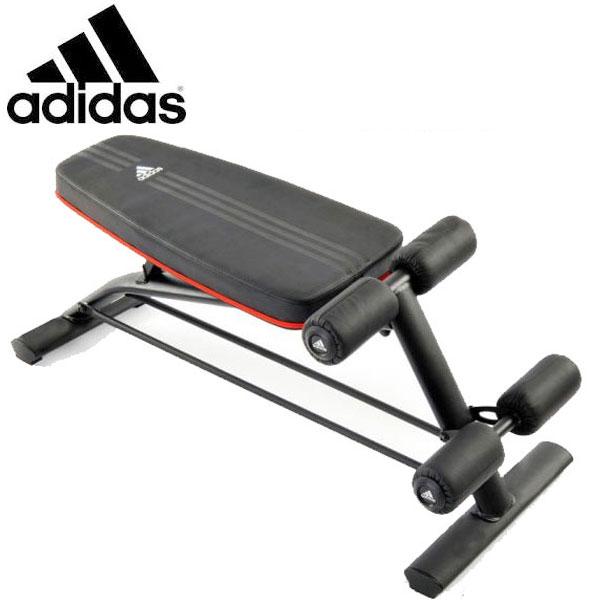 アディダス(adidas) アジャスタブル アブボード 腹筋台 フィットネス・トレーニング 【代引き不可】