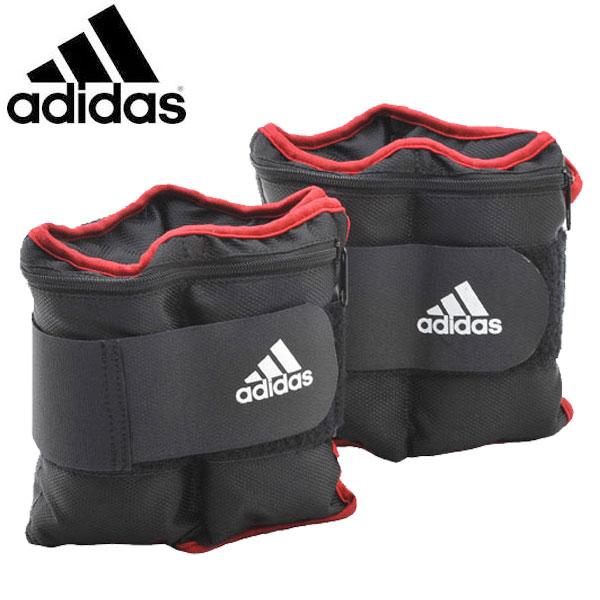 アディダス(adidas) アジャスタブル・アンクル/リストウエイト プレート 0.5kg×8個 フィットネス・トレーニング