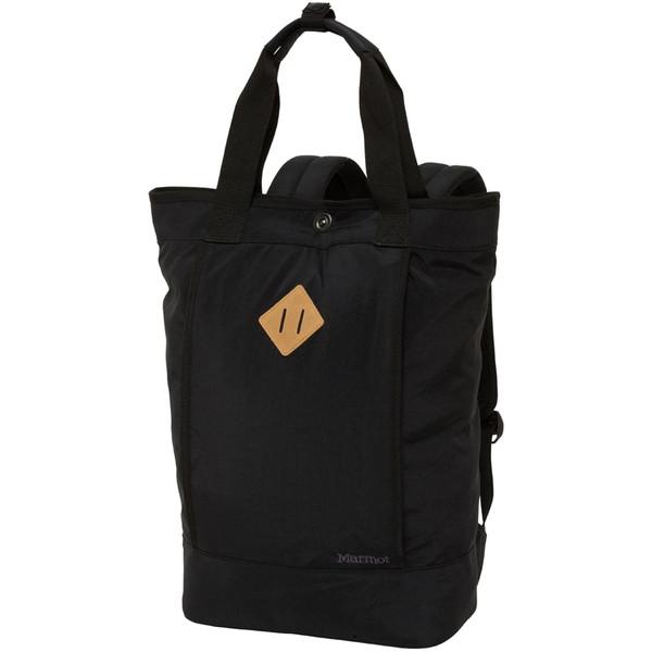マーモット(Marmot) ワイズマンハンドルバックパック (Wise Man Handle Back Pack) TOALJA05 アウトドア バッグ TOALJA05-BLK