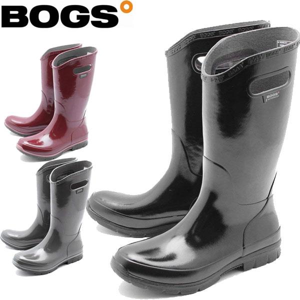 BOGS(ボグス) 防寒 防水ブーツ バークレー ソリッド BERKELEY SOLID ロングブーツ(RO)レディース メンズ(71896)