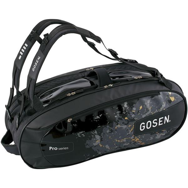 GOSEN(ゴーセン) ラケットバッグ Pro4(ラケット4本入) テニス バッグ BA18PR4-39